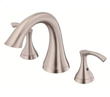 Brushed Nickel Trim Only for Two Handle Roman Tub Faucet