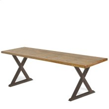 Maydel Cross Base Bench