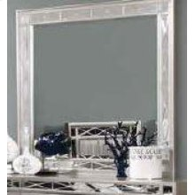 Leighton Contemporary Dresser Mirror With Beveled Edge