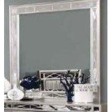 Leighton Contemporary Dresser Mirror With Beveled Edge