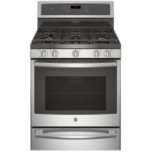 """30"""" Free-Standing Gas Convection Self-Cleaning Gas Range with Warming Drawer"""