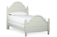 Inspirations by Wendy Bellissimo - Morning Mist Westport Low Poster Bed T 3/3