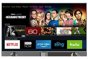 "50"" Smart 4K Ultra HDTV - Amazon Fire TV Edition"