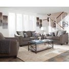 Salizar Transitional Grey Loveseat Product Image