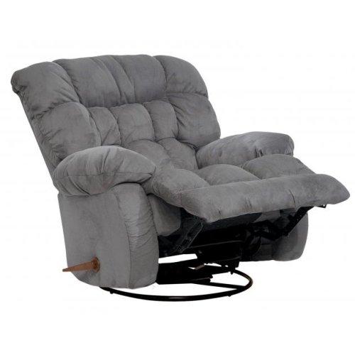 Chaise Swivel Glider Recliner - Graphite