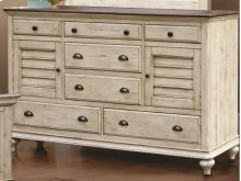CF-2300 Bedroom - 7 Drawer Dresser - Sunset Trading