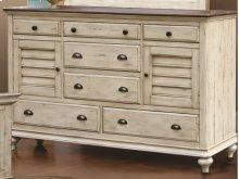 CF-2300 Bedroom - 7 Drawer Dresser - Sunset Trading