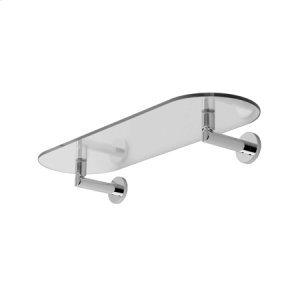 "Polished Chrome 24"" Shelf"