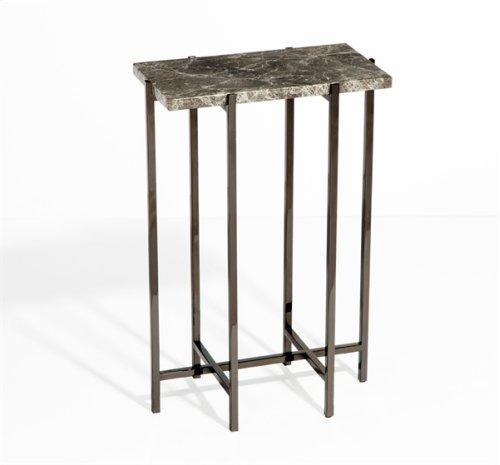 Laurent Rectangular Drink Table - Grey