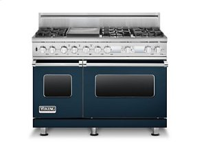 "48"" Sealed Burner Dual Fuel Electronic Control Range, Propane Gas"