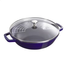 Staub Cast Iron 4.5-qt Perfect Pan, Dark Blue