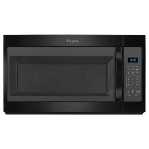 1.7 cu. ft. Microwave Hood Combination with Electronic Controls - BLACK