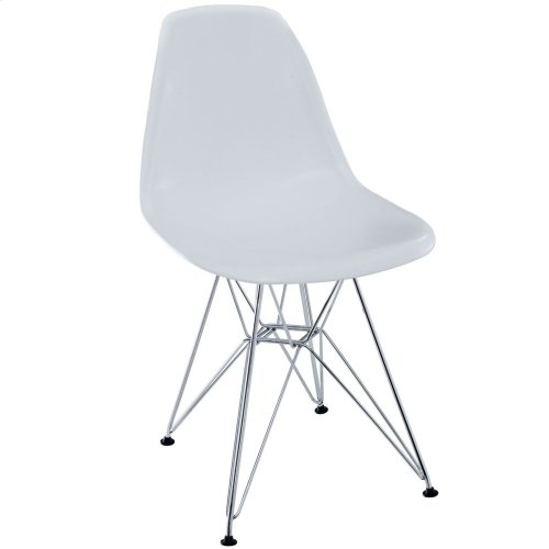 Paris Dining Side Chair in White
