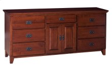 7 Drawer/2 Door Dresser