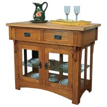 Gallatin Classic Small Kitchen Island