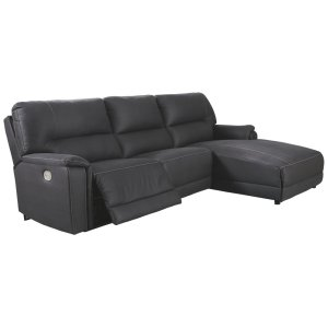 AshleySIGNATURE DESIGN BY ASHLEYHenefer 3-piece Power Reclining Sectional With Chaise