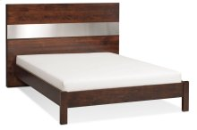 "Bennett Panel Bed with 18"" Attached Nightstands (Redesigned), Bennett Panel Bed with 18"" Attached Nightstands, Queen"