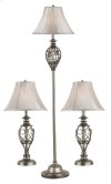 Cerise - 3-Pack: 2 Table Lamps, 1 Floor Lamp