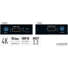 4K/18G HDMI Fixer, Booster, Buffer of EDID, HDCP, Hot Plug, 18G to 10G Compress/Decompress