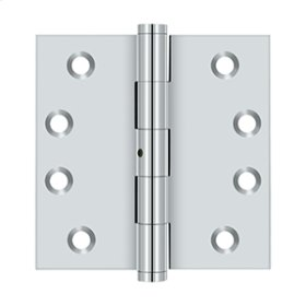 "4""x 4"" Square Hinges - Polished Chrome"