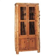 Twelve Gun Cabinet - Natural Cedar
