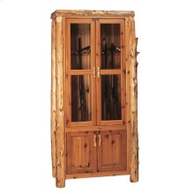 Eight Gun Cabinet - Natural Cedar