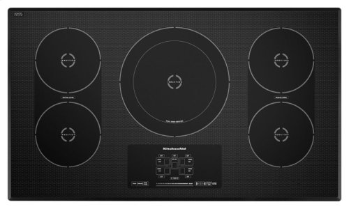 36-Inch 5-Element Induction Cooktop, Architect® Series II - Black