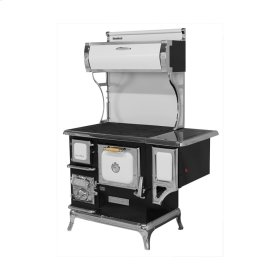 White Sweetheart Wood Cookstove with Water Reservoir