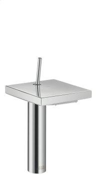 Polished Bronze Single lever basin mixer 190 with waste set