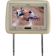 9.2 inch universal mobile video headrest system