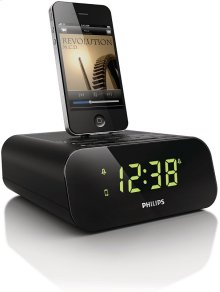 Clock radio for iPod/ iPhone