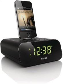 Clock radio for iPod/ iPhone