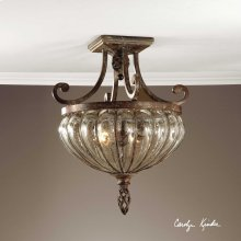Galeana, 2 Lt Semi Flush Mount