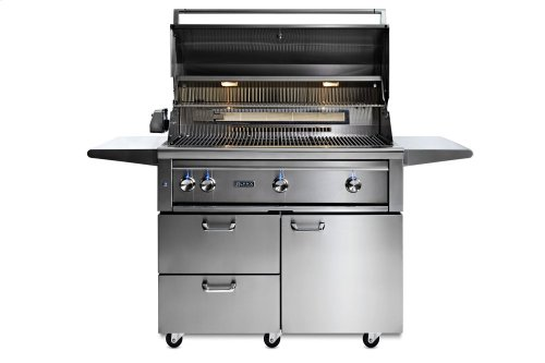 "42"" Lynx Professional All Trident Freestanding Grill Rotisserie, LP"