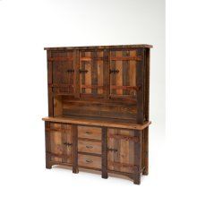 Heritage Shady Bay 2 Piece Buffet and Hutch With Wood Doors