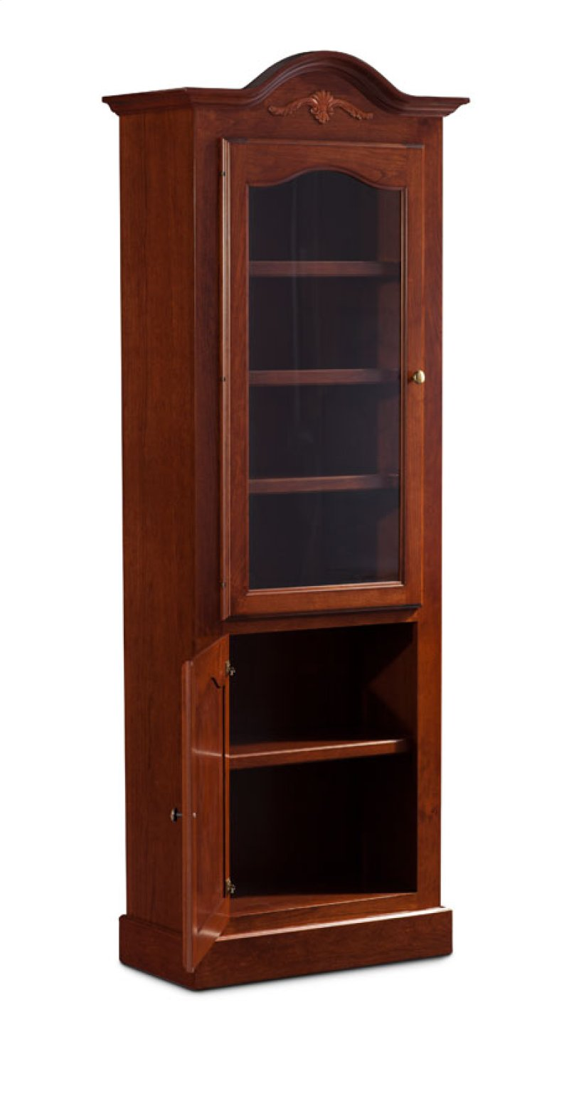 with bookcase metal post plum uptown doors glass