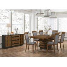 Octavia Rustic Grey Dining Chair
