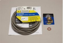 Braided Water Supply Line Kit (WATERHOOKUP)