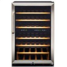 GE 4.5 L Dual ZoneDigital CoolBlue LED DisplayLED Interior lighting Wood Shelves Key Lock