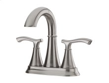Brushed Nickel Ideal Centerset Bath Faucet
