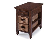 Rectangular Chair Side End Table