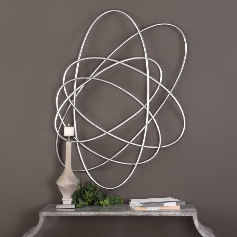 Orbital Metal Wall Decor