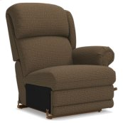 Kirkwood Left-Arm Sitting Rocking Recliner w/ Brass Nail Head Trim