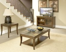 Oak 3 Pack - Cocktail Table & Two End Tables