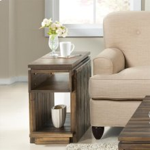 Modern Gatherings - Chairside Table - Brushed Acacia Finish