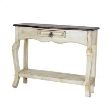 White Painted Ale Console