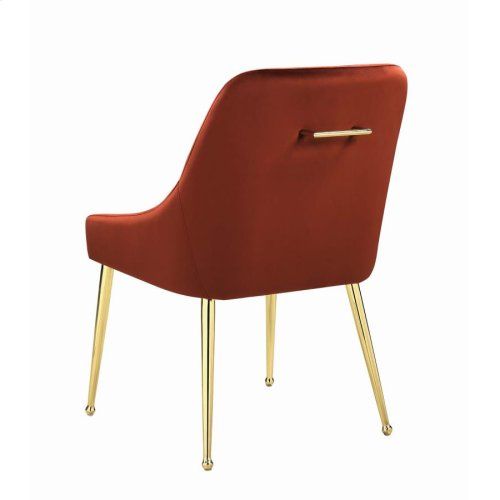 Modern Spicy Henna Dining Chair