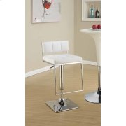 Contemporary Chrome Adjustable Bar Stool Product Image