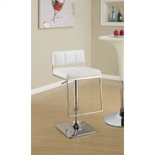Contemporary Chrome Adjustable Bar Stool