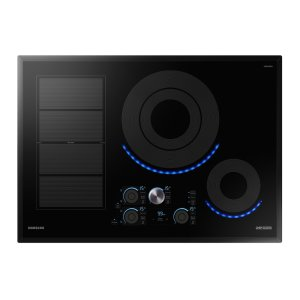 "Samsung30"" Chef Collection Induction Cooktop in Black"